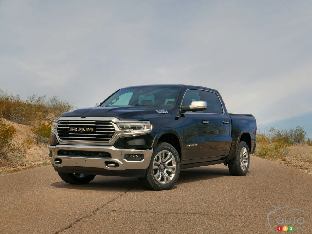 redesigned 2019 ram 1500 review car reviews auto123. Black Bedroom Furniture Sets. Home Design Ideas