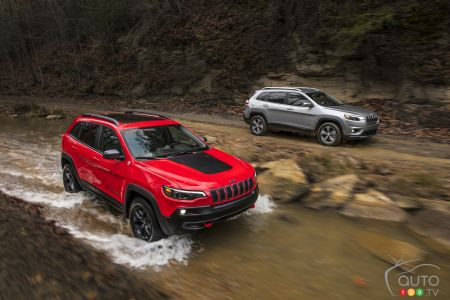 Photos du Jeep Cherokee 2019