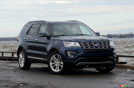 Photos du Ford Explorer 2017