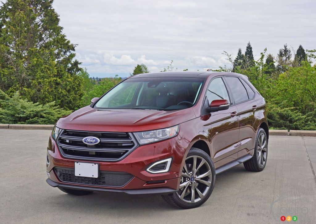 2016 ford edge sport road test car reviews auto123. Black Bedroom Furniture Sets. Home Design Ideas