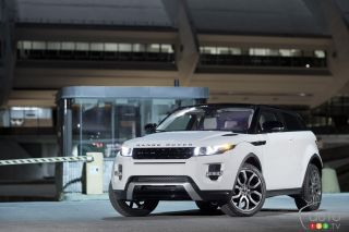 2012 Range Rover Evoque Coupé pictures