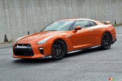 2017 Nissan GT-R front 3/4 view