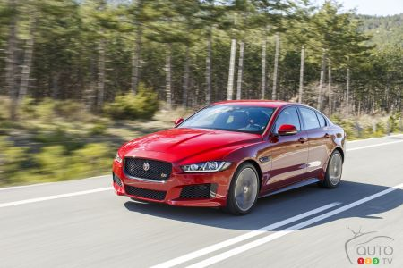 Photos de la Jaguar XE 20d TI 2017