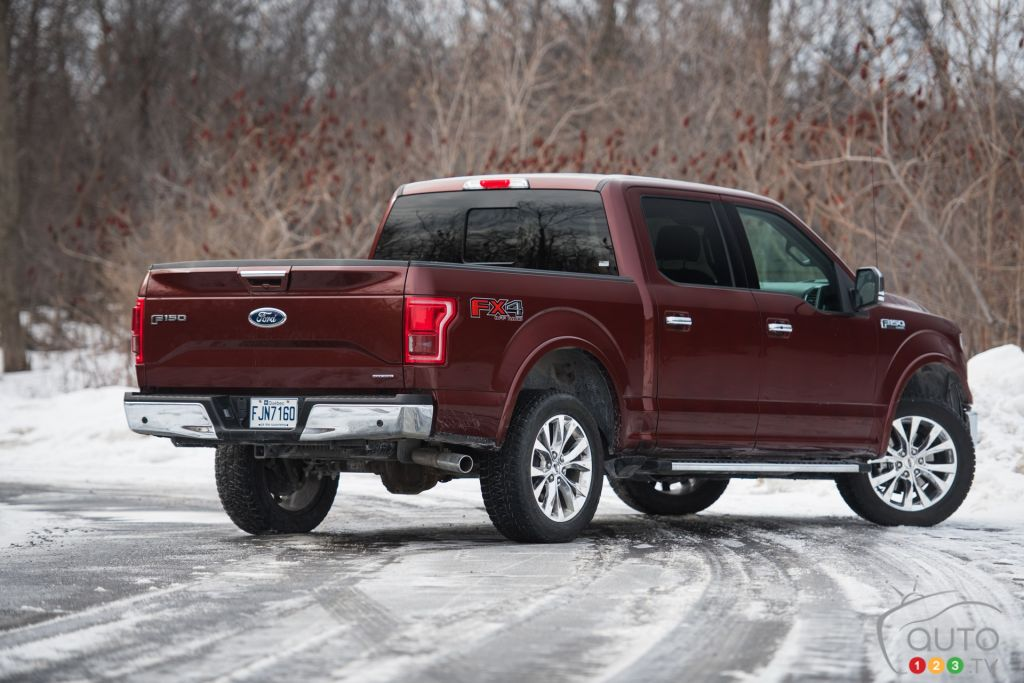 The 2016 Ford F-150 SuperCrew LARIAT 4x4 is at it again ...