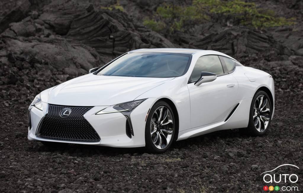 Des améliorations pour la Lexus LC 500 2021 | Actualités ...