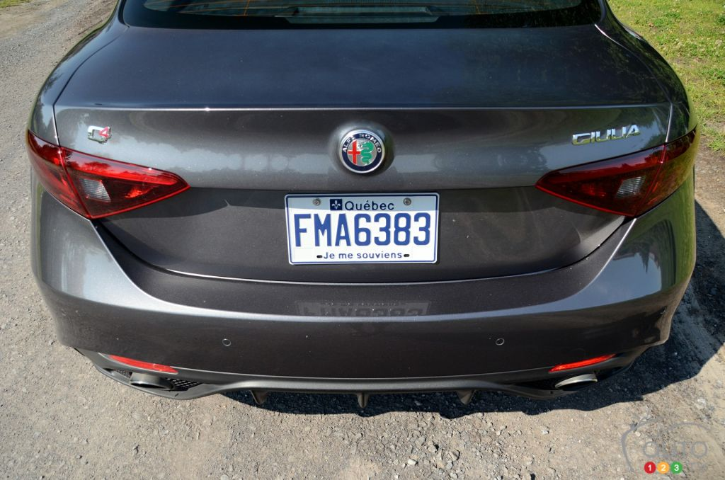 Alfa romeo giulia ti review car and driver 15