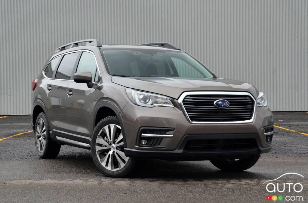 2021 subaru ascent review | car reviews | auto123