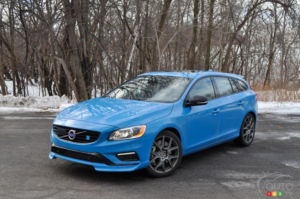 2015 Volvo V60 Polestar Review Editor S Review Car Reviews Auto123