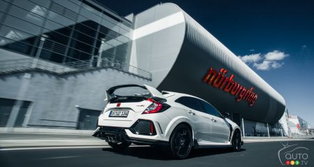 Photos de la Honda Civic Type R 2017
