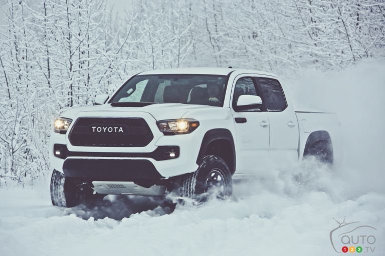 2017 Toyota Tacoma, Tundra and 4Runner pictures