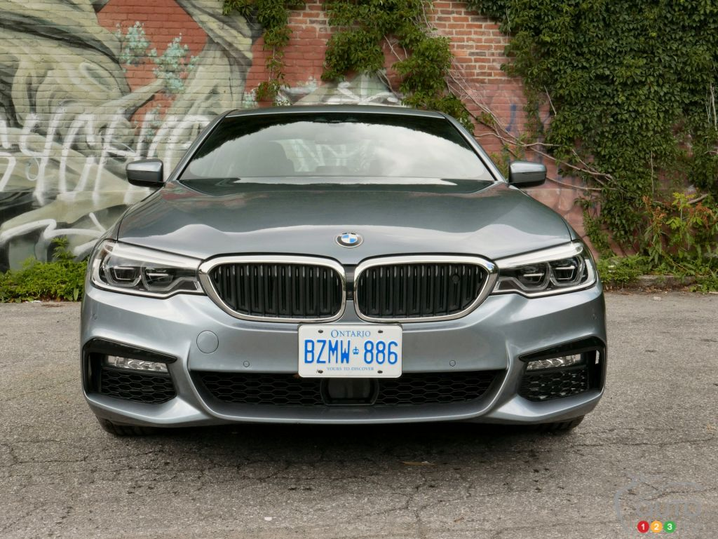 2017 Bmw 540i Xdrive A Sport Sedan With A Gadget Problem