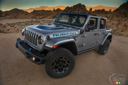 2021 Jeep Wrangler 4xe pictures