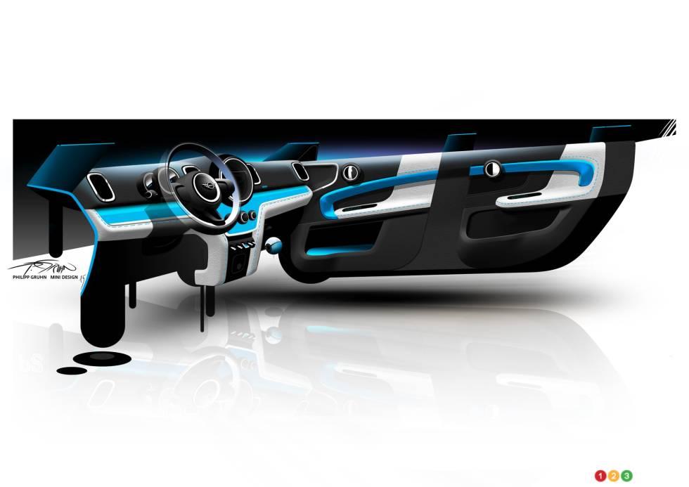 le design de la nouvelle mini countryman photo 31 de 36 auto123. Black Bedroom Furniture Sets. Home Design Ideas