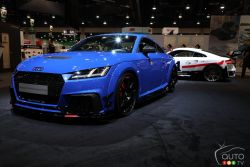 Audi TT RS with Audi Performance parts
