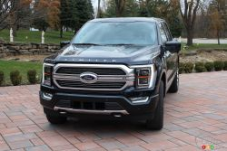 We drive the 2021 Ford F-150 Hybrid