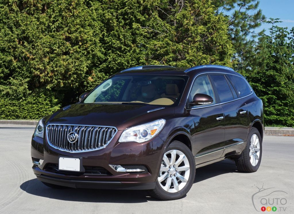 2016 buick enclave is old and it shows car reviews auto123. Black Bedroom Furniture Sets. Home Design Ideas