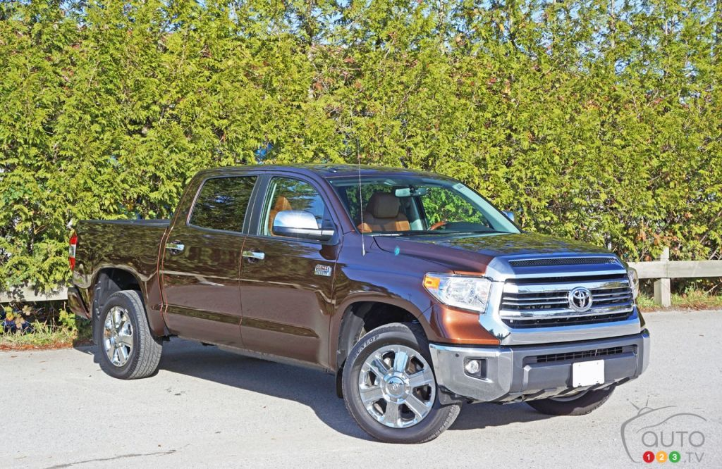 2016 Toyota Tundra 4x4 Platinum 1794 Edition Road Test ...