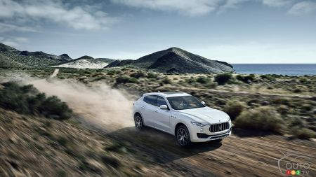 Photos de la Maserati Levante 2017