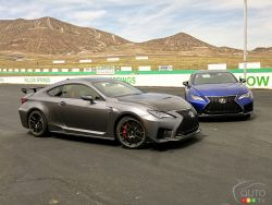 We drive the 2020 Lexus RC-F