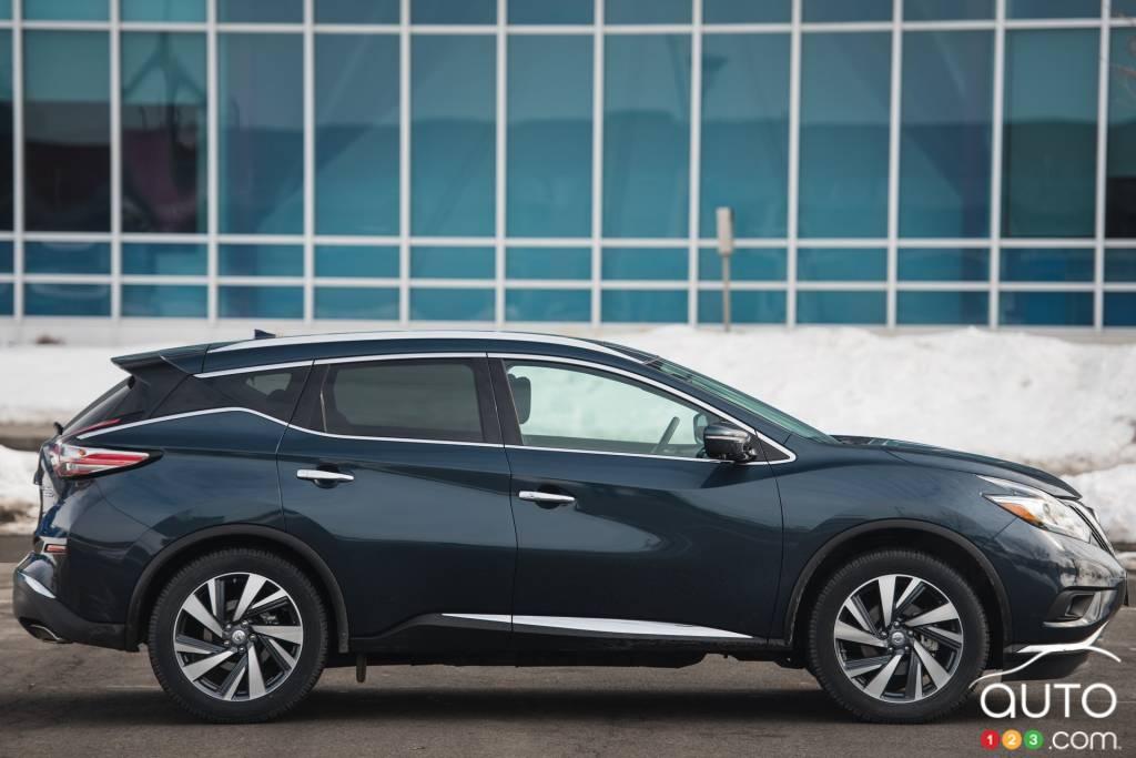 2015 nissan murano platinum review editor 39 s review car reviews auto123. Black Bedroom Furniture Sets. Home Design Ideas