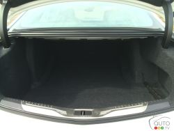 2016 Cadillac CT6 trunk