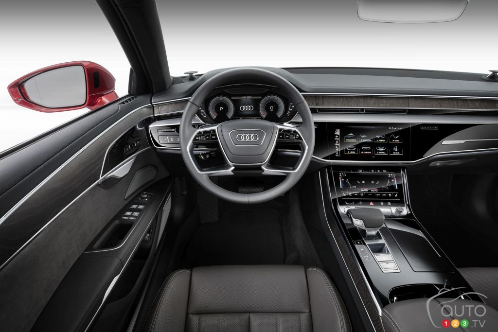 All New 2019 Audi A8 Unveiled With Artificial Intelligence Car