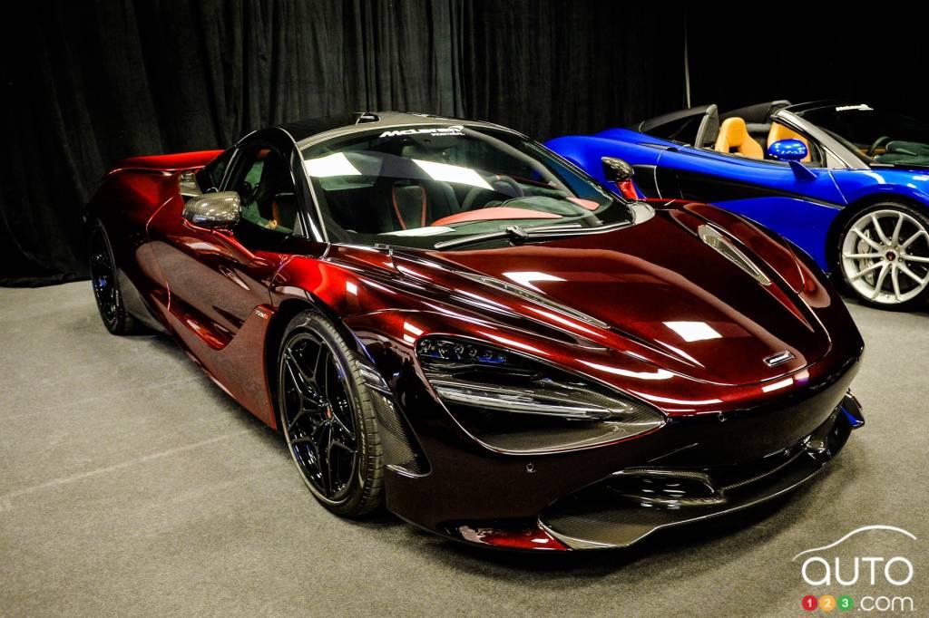 McLaren 720S Velocity 2018