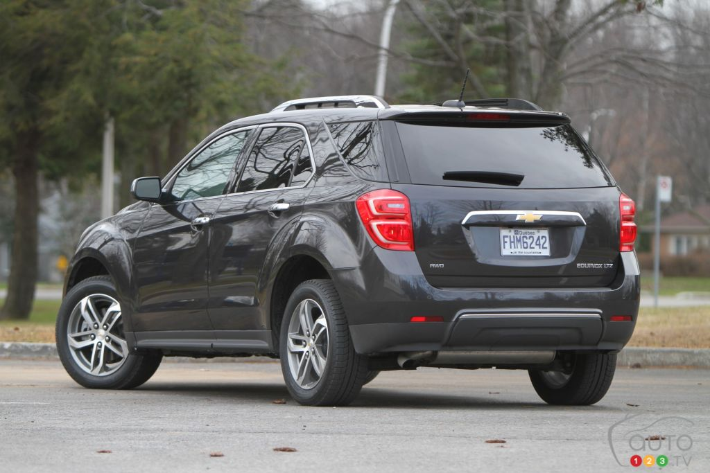 The 2016 Chevy Equinox Ltz Is All About Room And Comfort