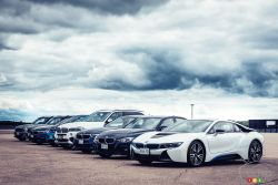 Overview of the seven electrified models of BMW