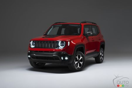 Jeep Renegade PHEV pictures