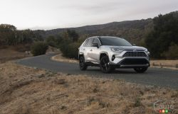 The new 2019 Toyota RAV4 Hybrid