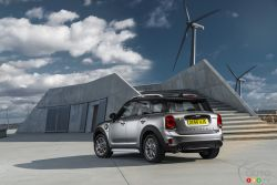 Rear view of the Mini Countryman e