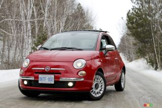 Photos de la Fiat 500 Lounge 2012
