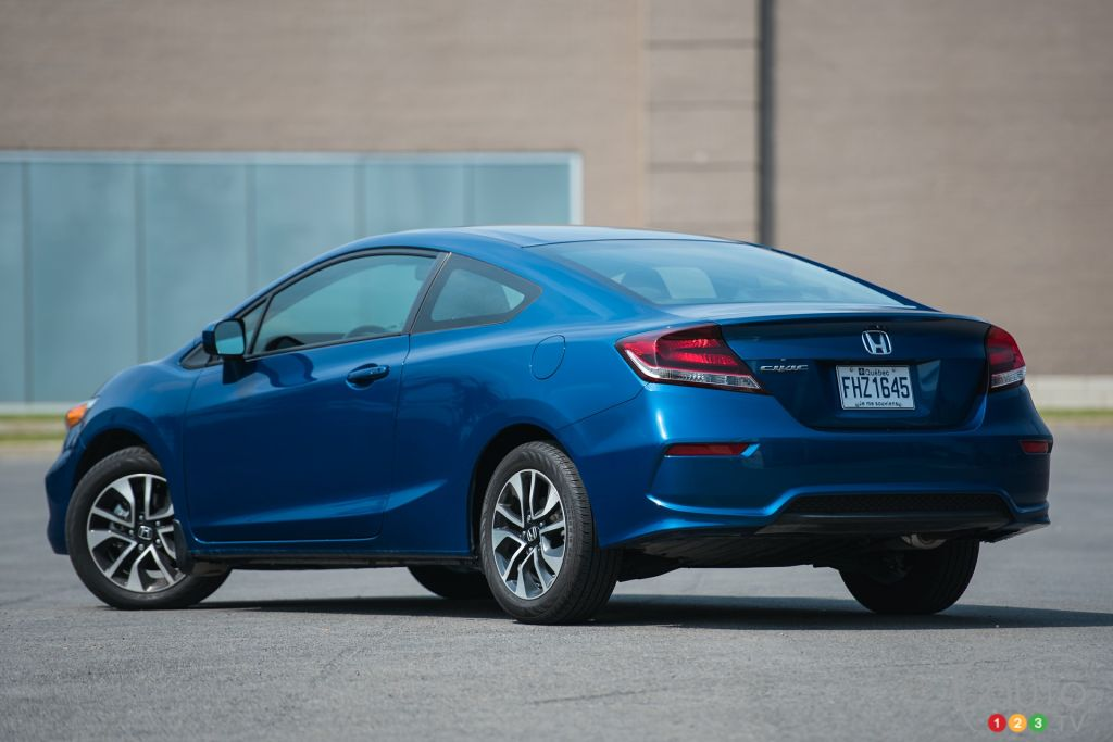 the 2015 honda civic ex coupe keeps making sense car