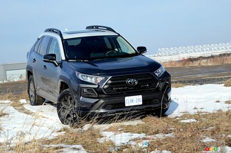 2020 Toyota RAV4 Trail Off Road pictures