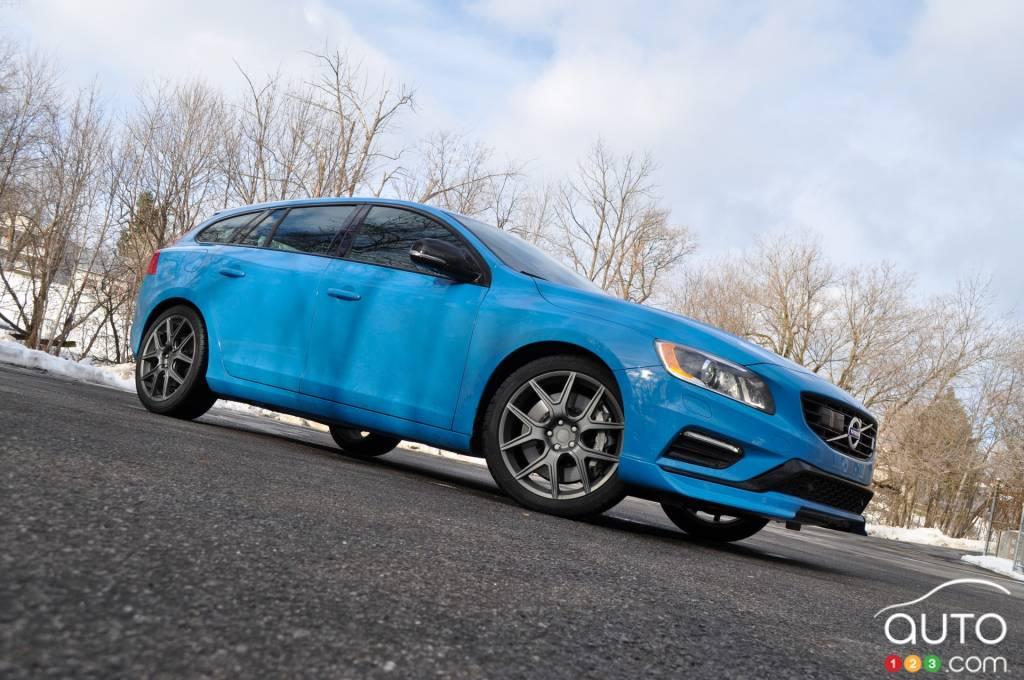 2015 Volvo V60 Polestar Review Editor's Review | Car ...