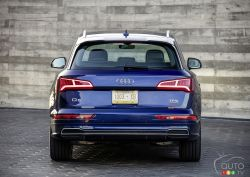 Rear view of the Q5
