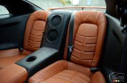2017 Nissan GT-R rear seats