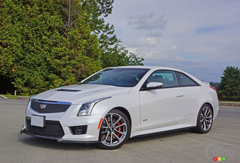 Photos de la Cadillac ATS V Coupe 2016