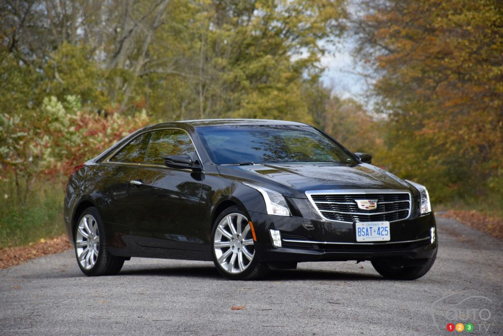 2015 cadillac ats coupe review editor 39 s review car reviews auto123. Black Bedroom Furniture Sets. Home Design Ideas