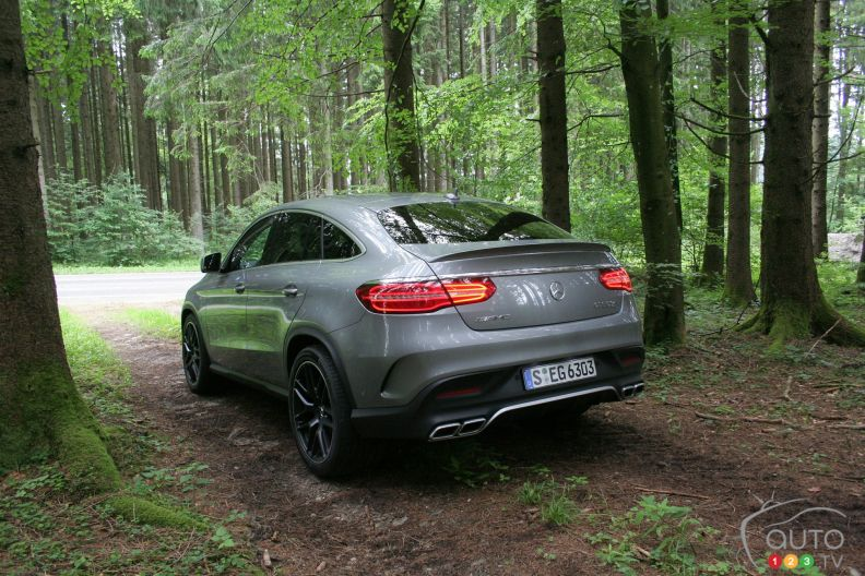 Photos de la mercedes benz gle 2016 auto123 for Mercedes benz metairie la