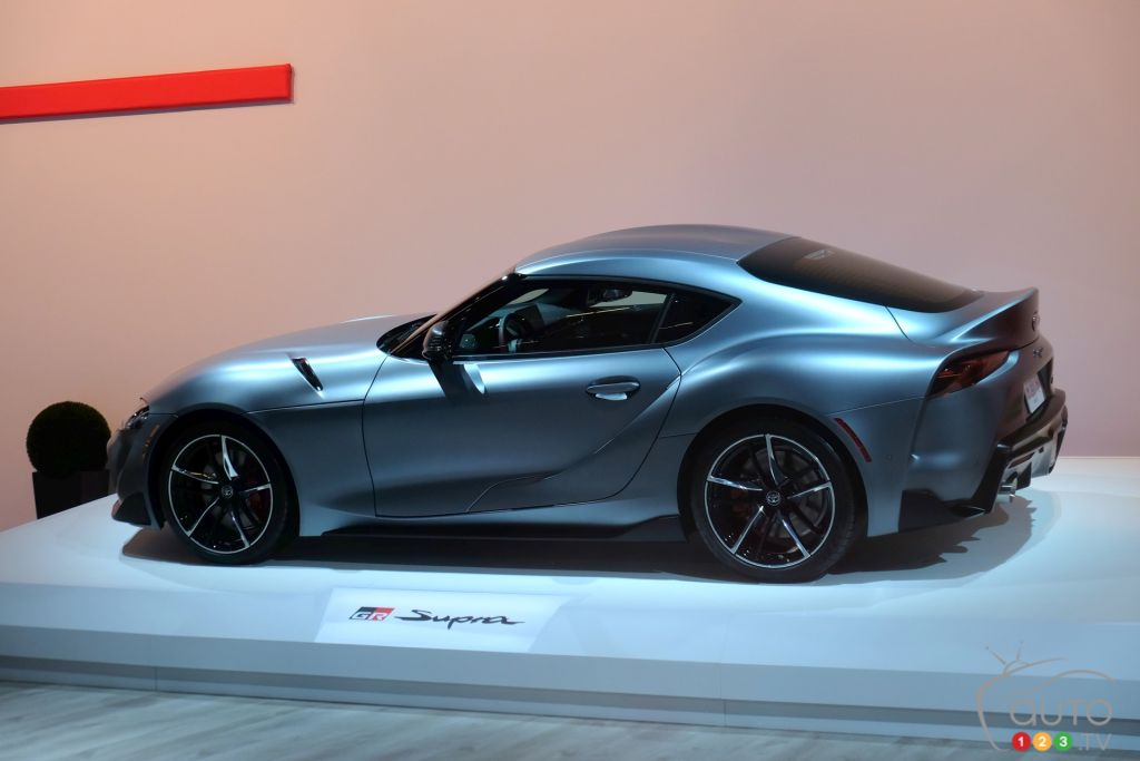Montreal 2019: Canadian Debut for the 2020 Toyota Supra ...