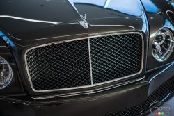 2017 Bentley Mulsanne front grille