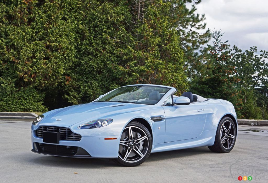2016 Aston Martin V8 Vantage Roadster Simply Stunning Car Reviews Auto123