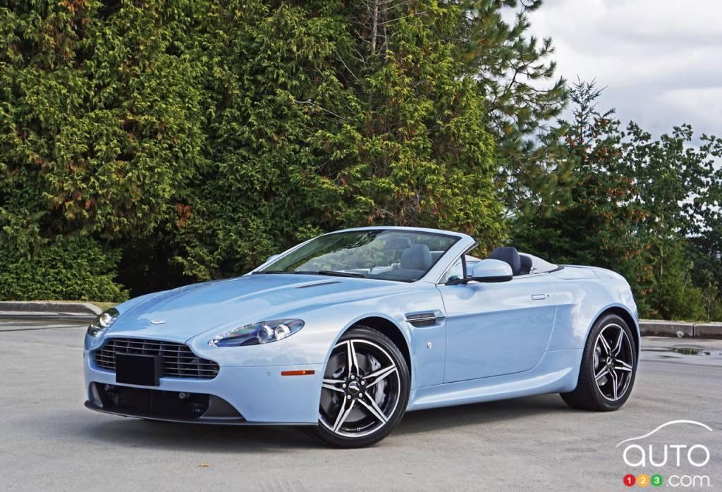 2016 Aston Martin V8 Vantage Roadster Simply Stunning Car Reviews Auto123
