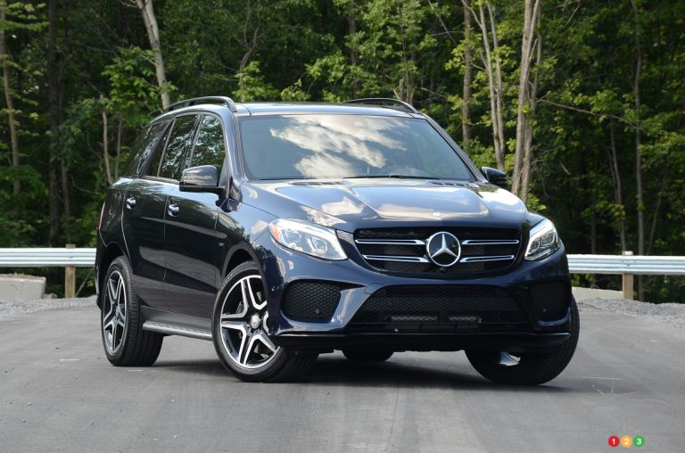2016 Mercedes-Benz GLE 450 AMG pictures
