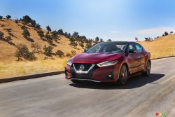 Introducing the new 2019 Nissan Maxima