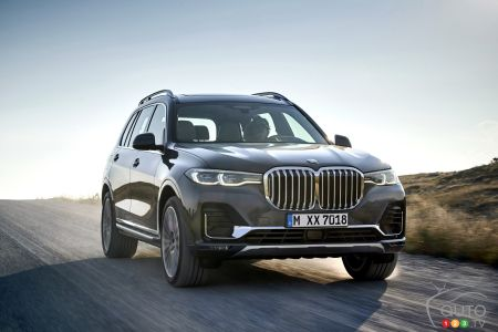 2019 BMW X7 photos