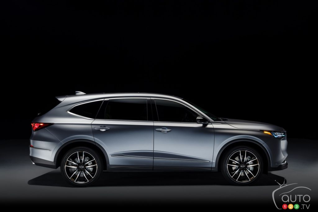 2021 Acura Mdx Prototype Introduced Car News Auto123