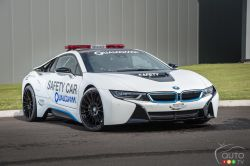 BMW i8- e Formula Head Car